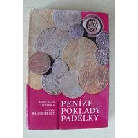 Книга о монетах на чешском языке 322 стр.