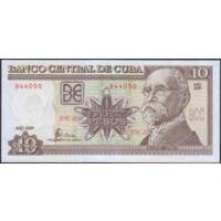 10 песо 2009г. UNC