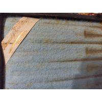 Набор столовых ножей 6 шт. Рукоятка из рога с обрамлением серебром и лезвием из стали.