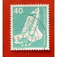 ФРГ. Космический корабль. ( 1 марка ).