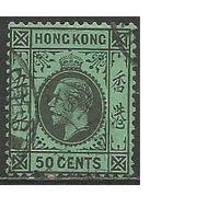 Гонконг. Король Георг V. 1912г. Mi#108.