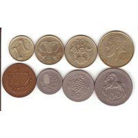 Кипр 8 монет
