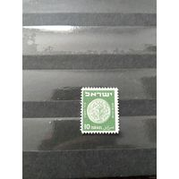 1949 Израиль чистая ориг клей лёгкая наклейка (4--14)