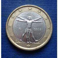 Италия 1 евро 2009