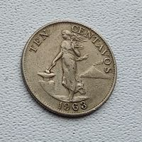 Филиппины 10 сентаво, 1963 3-15-17
