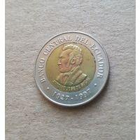 Эквадор 100 сукре (REPUBLICA DEL ECUADOR 100 Sucres)