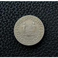25 центов Суринам 1966 года