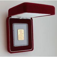 РЕДКОСТЬ! Белыничская Икона Пресвятой Богородицы, 50 рублей 2014, золото