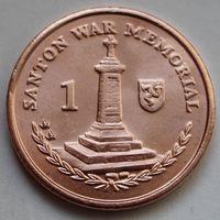 Остров Мэн, 1 пенни 2015 г