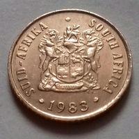 1 цент, ЮАР 1983 г., AU