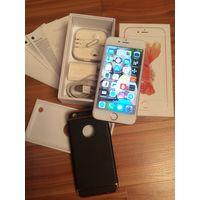 Айфон 6s, 16Гб, розовое золото оригинал.