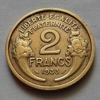 2 франка, Франция 1933 г.