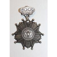 Копия какого-то знака, ордена, размер 7*5 см., из Европы.