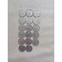 Квотеры 25 центов США