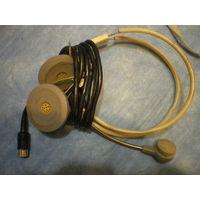 Телефонно-микрофонная гарнитура  ТМГ-5, сломанно крепление микрофона.