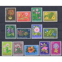 [1571] Сьерра-Леоне 1963. Флора.Цветы.