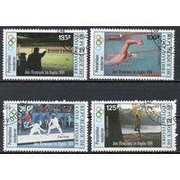 Спорт Кот-д'Ивуар 1984 год серия из 4-х марок