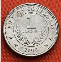 122-11 Никарагуа, 1 кордоба 2000 г.