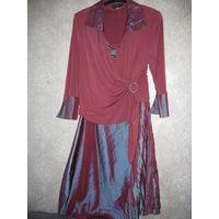 Нарядный костюм для солидной дамы 54-56 размер
