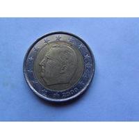 Бельгия 2 евро 2000г.  распродажа