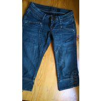 Капри джинсовые р.42