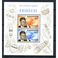 Руанда - 1965г. - Джон Кеннеди - полная серия, MNH [Mi bl. 5] - 1 блок