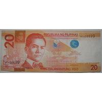 Филиппины 20 песо 2013 г. (u)