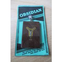 Обсидиан с распятием
