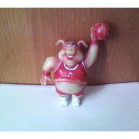 "Air Porky из набора ""Sports Hawgs"" - Свинья кабан баскетболист Chicago Pigs. Производство Toybox Creations (T.B.C.). баскетбол. (возможен обмен)"