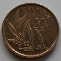 Бельгия, 20 франков 1982 г. 'BELGIQUE'