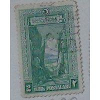 Ущелье Сакарья. Турция.  Дата выпуска:1926
