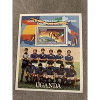 Уганда 1982. Чемпионат мира по футболу Испания-82. Блок
