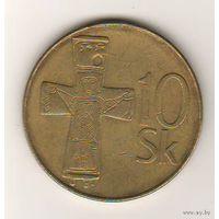 Словакия, 10 koruna, 1993