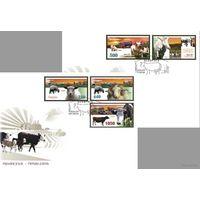 БЕЛАРУСЬ КПД  2007г Домашний скот (2 конверта)