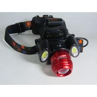 Налобный фонарь HL-150-T6 ZOOM