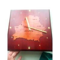Часы с картой Республики Беларусь
