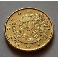 10 евроцентов, Италия 2005 г.