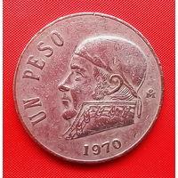 52-15 Мексика, 1 песо 1970 г.