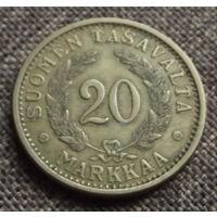 Финляндия. 20 марок 1939