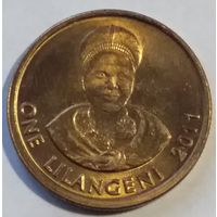Свазиленд 1 лилангени 2011 года.