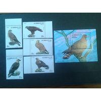 Азербайджан 1994 Хищные птицы полная серия
