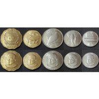 Самоа набор 5 монет 2011 UNC