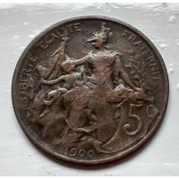 Франция 5 сантимов, 1900  2-6-29