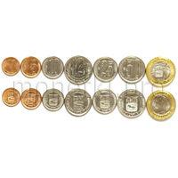 Венесуэла 7 монет 2007-2012 годов