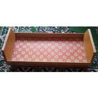 Большая деревянная кроватка для куклы. Качество СССР! Подписывайтесь! Много новых лотов в продаже!!!