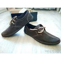 Туфли , макасины мужские р-р  44-45 ( 29 см стелька )
