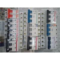 Выключатели автоматические 1 и3 фазные ,дифавтоматы от16 до100 Ампер в ассортименте
