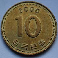 10 вон 2000 Корея