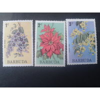 Барбуда 1975 цветы