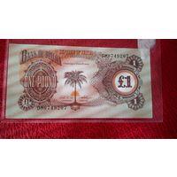 1 фунт Биафры 1969 г.